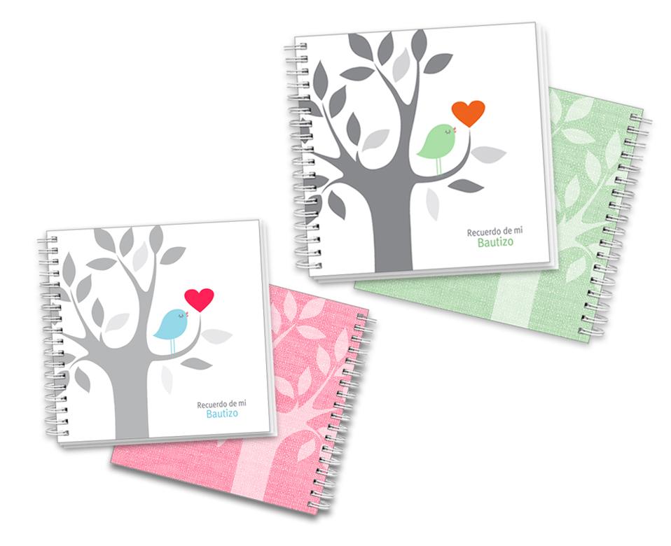cuadernos mi bautizo